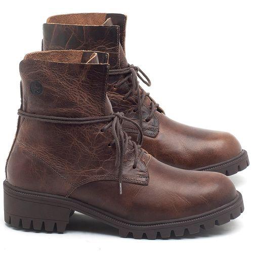 Laranja_Lima_Shoes_Sapatos_Femininos_Bota_Cano_Curto_em_Couro_Marrom_-_Codigo_-_137249_1