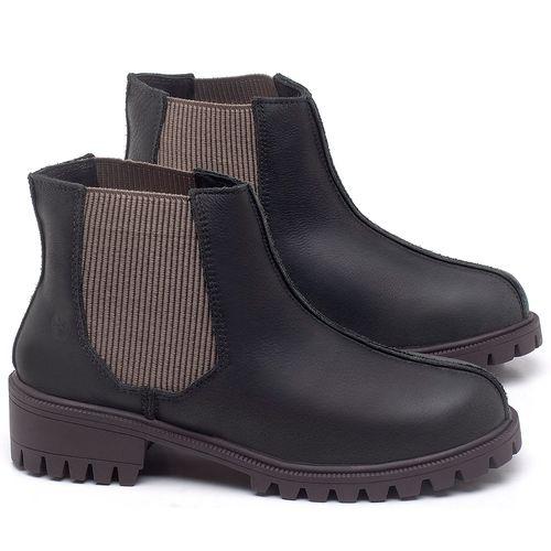 Laranja_Lima_Shoes_Sapatos_Femininos_Bota_Cano_Curto_em_Couro_Preto_-_Codigo_-_137250_1