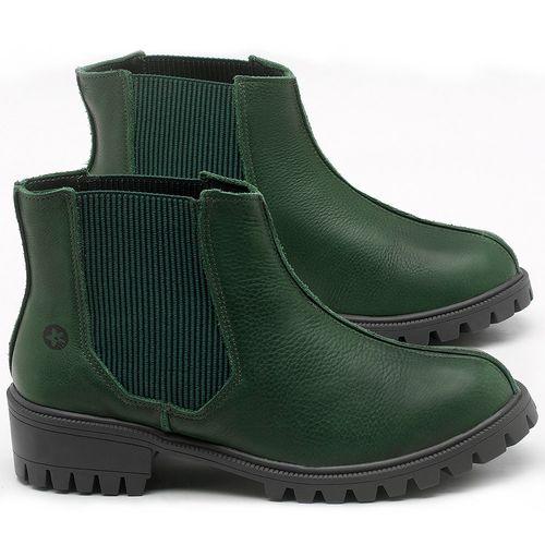 Laranja_Lima_Shoes_Sapatos_Femininos_Bota_Cano_Curto_em_Couro_Verde_-_Codigo_-_137250_1