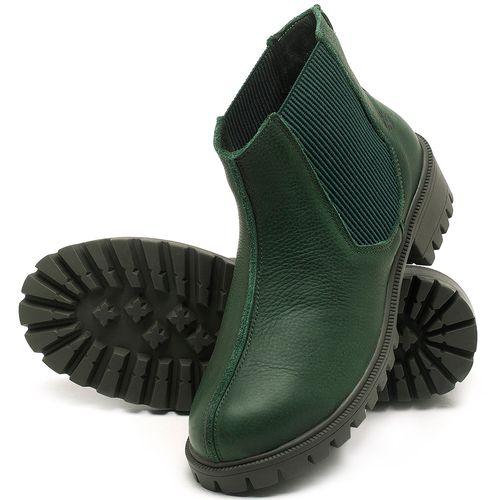 Laranja_Lima_Shoes_Sapatos_Femininos_Bota_Cano_Curto_em_Couro_Verde_-_Codigo_-_137250_2