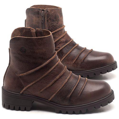 Laranja_Lima_Shoes_Sapatos_Femininos_Bota_Cano_Curto_em_Couro_Marrom_-_Codigo_-_137251_1
