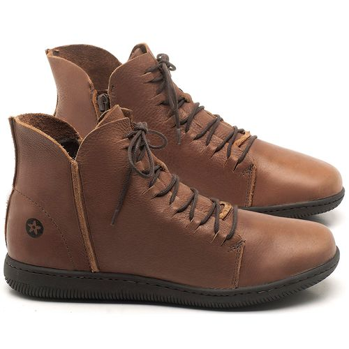 Laranja_Lima_Shoes_Sapatos_Femininos_Tenis_Cano_Alto_em_Couro_Caramelo_-_Codigo_-_137256_1