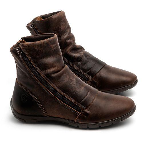 Laranja_Lima_Shoes_Sapatos_Femininos_Flat_Boot_em_Couro_Marrom_-_Codigo_-_137260_1