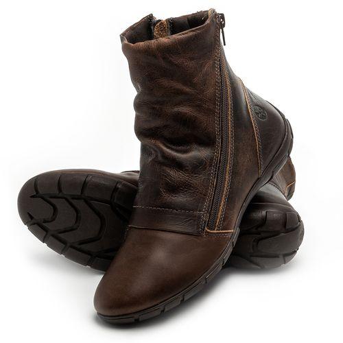 Laranja_Lima_Shoes_Sapatos_Femininos_Flat_Boot_em_Couro_Marrom_-_Codigo_-_137260_2