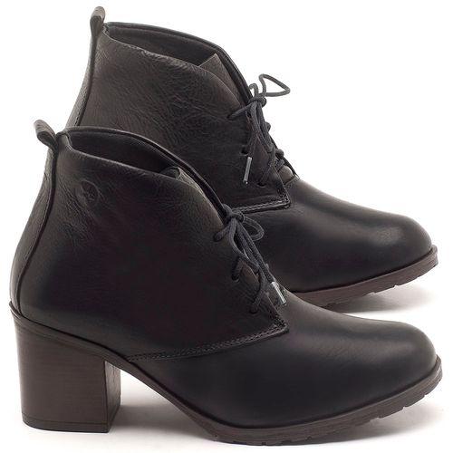 Laranja_Lima_Shoes_Sapatos_Femininos_Bota_Cano_Curto_Salto_de_6_cm_em_Couro_Preto_-_Codigo_-_137261_1