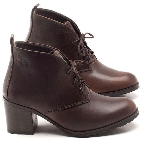 Laranja_Lima_Shoes_Sapatos_Femininos_Bota_Cano_Curto_Salto_de_6_cm_em_Couro_Cafe_-_Codigo_-_137261_1