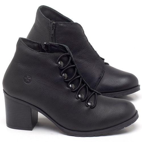 Laranja_Lima_Shoes_Sapatos_Femininos_Bota_Cano_Curto_Salto_de_6_cm_em_Couro_Preto_-_Codigo_-_137262_1