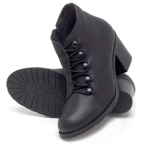 Laranja_Lima_Shoes_Sapatos_Femininos_Bota_Cano_Curto_Salto_de_6_cm_em_Couro_Preto_-_Codigo_-_137262_2