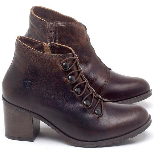 Laranja_Lima_Shoes_Sapatos_Femininos_Bota_Cano_Curto_Salto_de_6_cm_em_Couro_Cafe_-_Codigo_-_137262_1