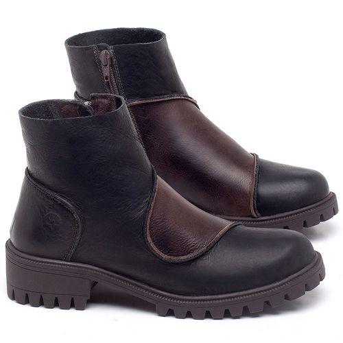 Laranja_Lima_Shoes_Sapatos_Femininos_Bota_Cano_Curto_em_Couro_Preto_-_Codigo_-_137264_1
