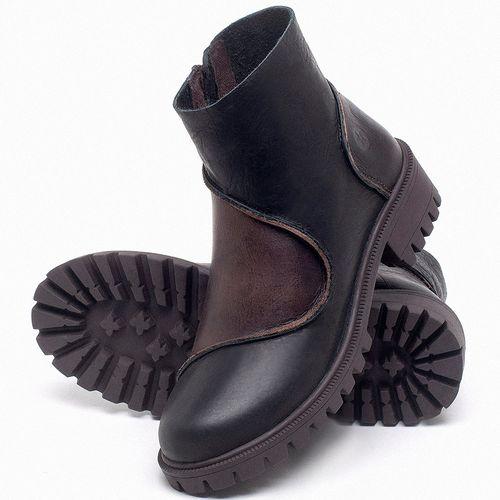 Laranja_Lima_Shoes_Sapatos_Femininos_Bota_Cano_Curto_em_Couro_Preto_-_Codigo_-_137264_2