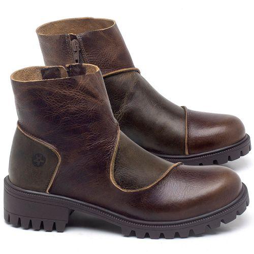 Laranja_Lima_Shoes_Sapatos_Femininos_Bota_Cano_Curto_em_Couro_Marrom_-_Codigo_-_137264_1