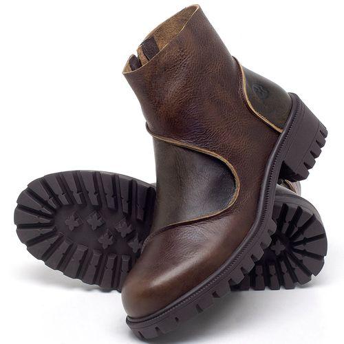 Laranja_Lima_Shoes_Sapatos_Femininos_Bota_Cano_Curto_em_Couro_Marrom_-_Codigo_-_137264_2