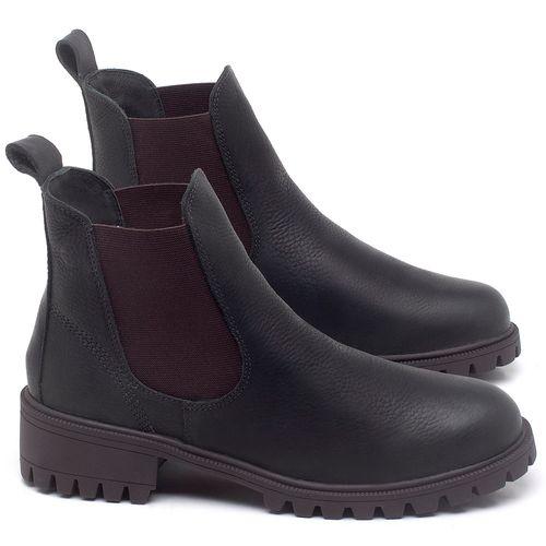 Laranja_Lima_Shoes_Sapatos_Femininos_Bota_Cano_Curto_em_Couro_Preto_-_Codigo_-_137265_1