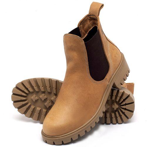 Laranja_Lima_Shoes_Sapatos_Femininos_Bota_Cano_Curto_em_Couro_Amarelo_-_Codigo_-_137265_2