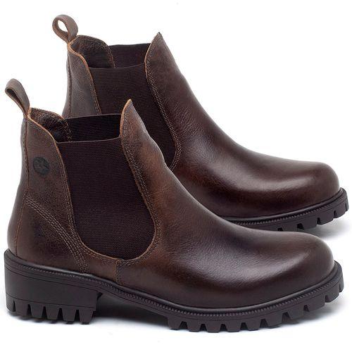 Laranja_Lima_Shoes_Sapatos_Femininos_Bota_Cano_Curto_em_Couro_Marrom_-_Codigo_-_137265_1