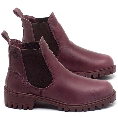 Laranja_Lima_Shoes_Sapatos_Femininos_Bota_Cano_Curto_em_Couro_Roxo_-_Codigo_-_137265_1