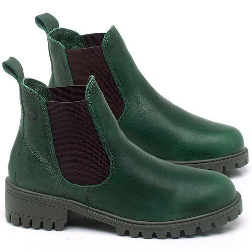 Laranja_Lima_Shoes_Sapatos_Femininos_Bota_Cano_Curto_em_Couro_Verde_-_Codigo_-_137265_1