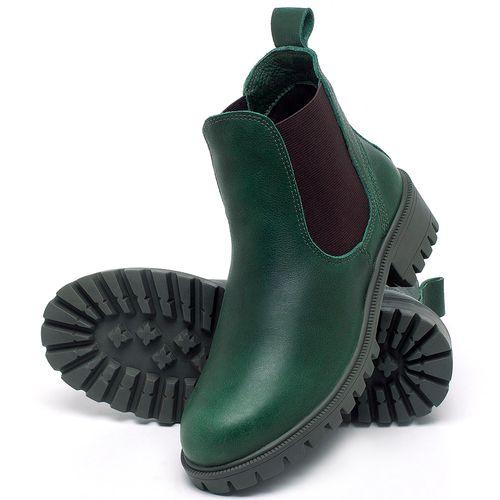Laranja_Lima_Shoes_Sapatos_Femininos_Bota_Cano_Curto_em_Couro_Verde_-_Codigo_-_137265_2