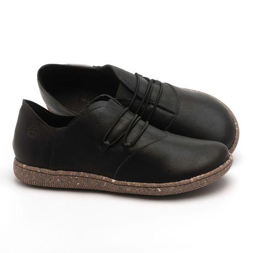 Laranja_Lima_Shoes_Sapatos_Femininos_Flat_Shoes_em_Couro_Preto_-_Codigo_-_137268_1