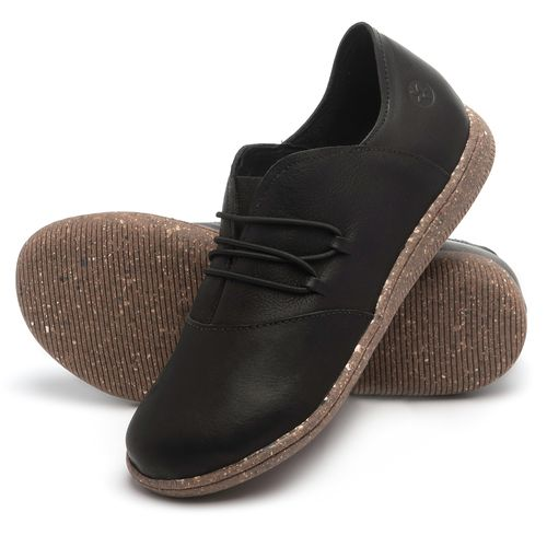 Laranja_Lima_Shoes_Sapatos_Femininos_Flat_Shoes_em_Couro_Preto_-_Codigo_-_137268_2