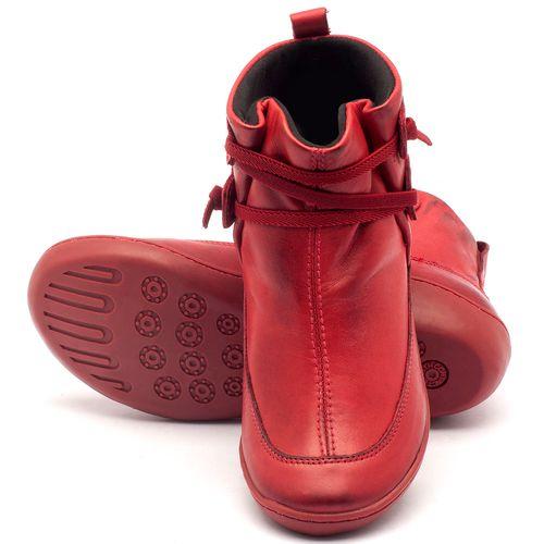 Laranja_Lima_Shoes_Sapatos_Femininos_Tenis_Cano_Alto_em_Couro_Vermelho_-_Codigo_-_139001_2