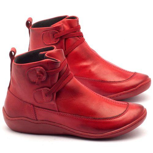 Laranja_Lima_Shoes_Sapatos_Femininos_Tenis_Cano_Alto_em_Couro_Vermelho_-_Codigo_-_139001_1