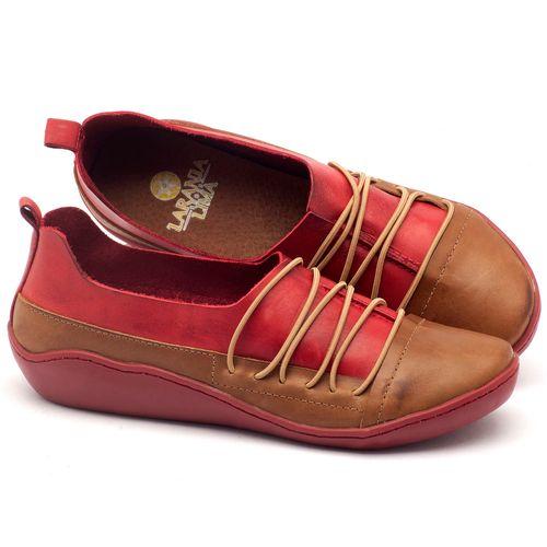 Laranja_Lima_Shoes_Sapatos_Femininos_Tenis_Cano_Baixo_em_Couro_Vermelho_-_Codigo_-_139012_1