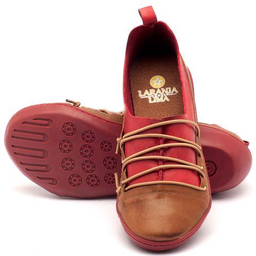 Laranja_Lima_Shoes_Sapatos_Femininos_Tenis_Cano_Baixo_em_Couro_Vermelho_-_Codigo_-_139012_2