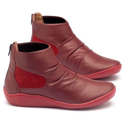 Laranja_Lima_Shoes_Sapatos_Femininos_Tenis_Cano_Alto_em_Couro_Vermelho_-_Codigo_-_139016_1