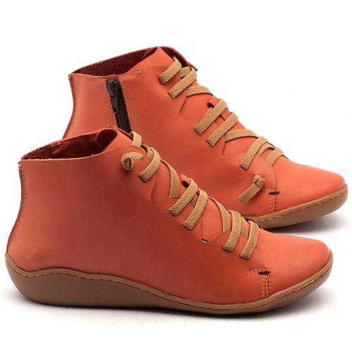 Laranja_Lima_Shoes_Sapatos_Femininos_Tenis_Cano_Alto_em_Couro_Laranja_-_Codigo_-_139019_1