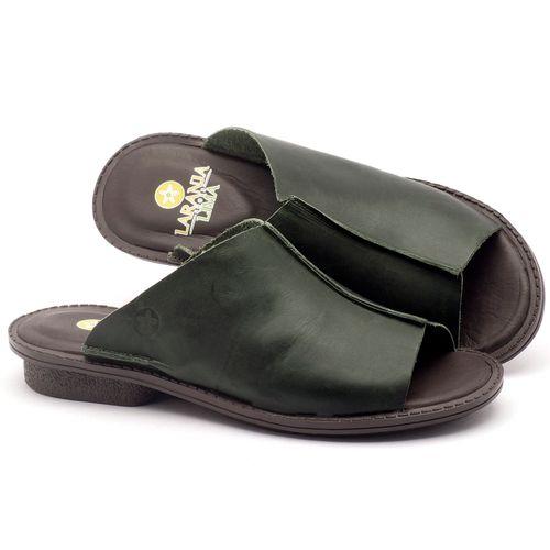 Laranja_Lima_Shoes_Sapatos_Femininos_Sandalia_Rasteira_Flat_em_Couro_Verde_-_Codigo_-_139020_1
