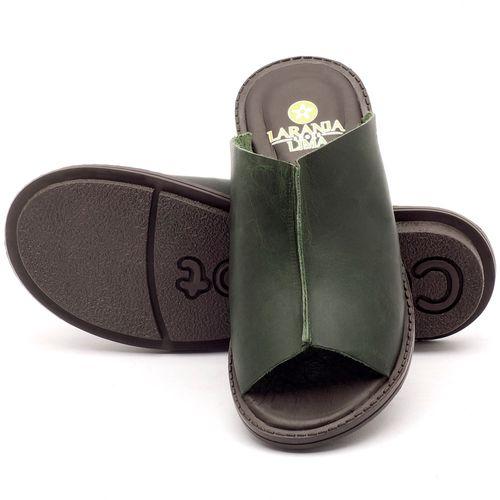 Laranja_Lima_Shoes_Sapatos_Femininos_Sandalia_Rasteira_Flat_em_Couro_Verde_-_Codigo_-_139020_2
