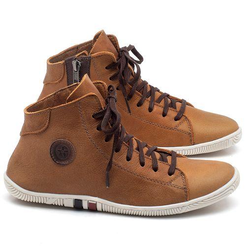 Laranja_Lima_Shoes_Sapatos_Femininos_Tenis_Cano_Alto_em_Couro_Caramelo_-_Codigo_-_139030_1