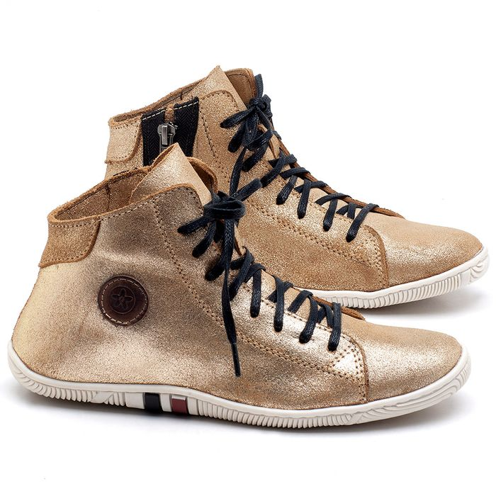 Laranja_Lima_Shoes_Sapatos_Femininos_Tenis_Cano_Alto_em_Couro_Metalizado_-_Codigo_-_139031_1