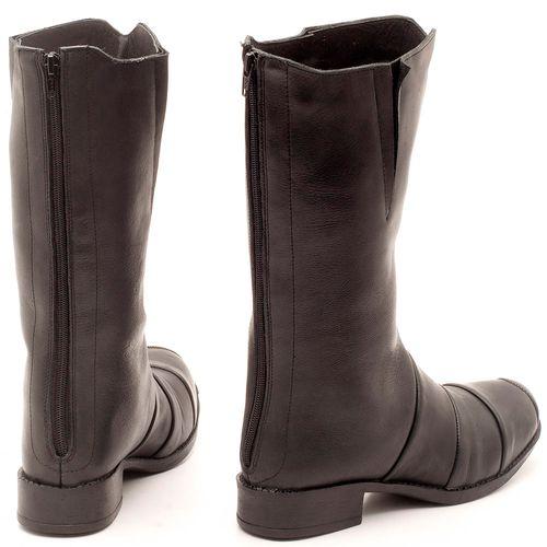 Laranja_Lima_Shoes_Sapatos_Femininos_Bota_Cano_Curto_Salto_de_2_cm_em_Couro_Preto_-_Codigo_-_141003_2