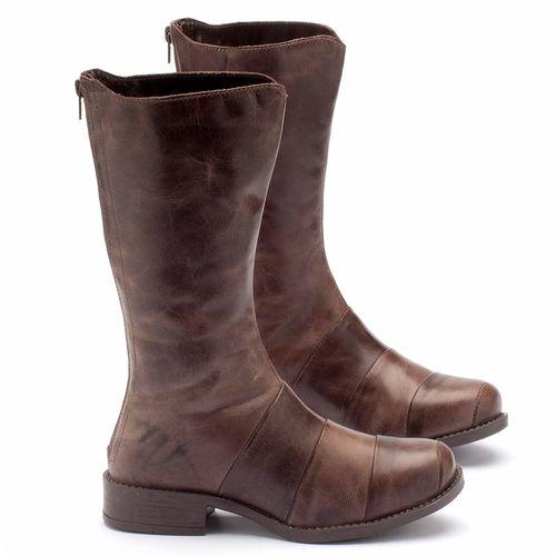 Laranja_Lima_Shoes_Sapatos_Femininos_Bota_Cano_Curto_Salto_de_2_cm_em_Couro_Cafe_-_Codigo_-_141003_1
