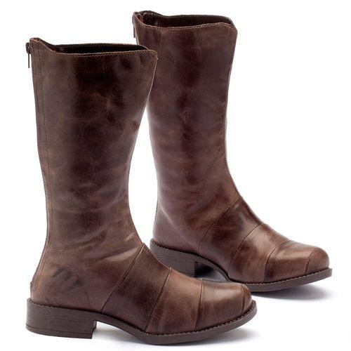 Laranja_Lima_Shoes_Sapatos_Femininos_Bota_Cano_Curto_Salto_de_2_cm_em_Couro_Cafe_-_Codigo_-_141003_2