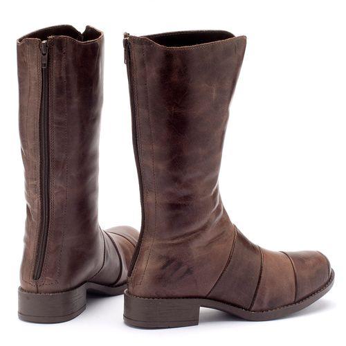 Laranja_Lima_Shoes_Sapatos_Femininos_Bota_Cano_Curto_Salto_de_2_cm_em_Couro_Cafe_-_Codigo_-_141003_3