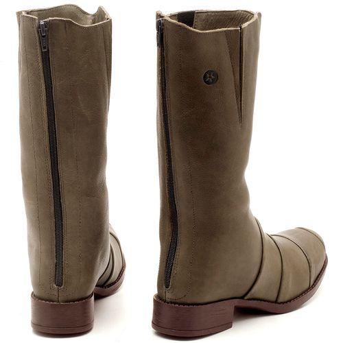 Laranja_Lima_Shoes_Sapatos_Femininos_Bota_Cano_Curto_Salto_de_2_cm_em_Couro_Musgo_-_Codigo_-_141003_2