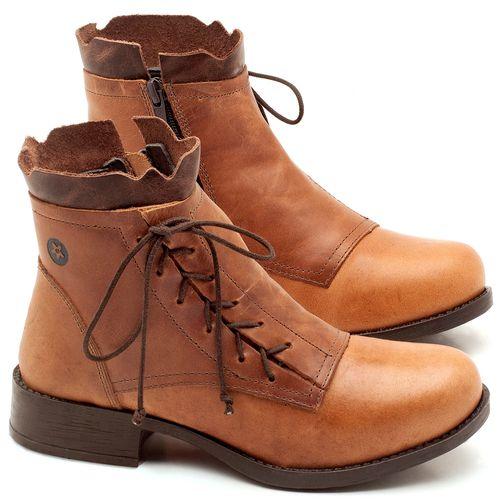Laranja_Lima_Shoes_Sapatos_Femininos_Bota_Cano_Curto_em_Couro_Caramelo_-_Codigo_-_141004_1