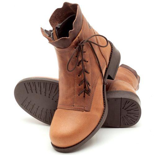 Laranja_Lima_Shoes_Sapatos_Femininos_Bota_Cano_Curto_em_Couro_Caramelo_-_Codigo_-_141004_2