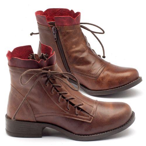 Laranja_Lima_Shoes_Sapatos_Femininos_Bota_Cano_Curto_em_Couro_Marrom_-_Codigo_-_141004_1