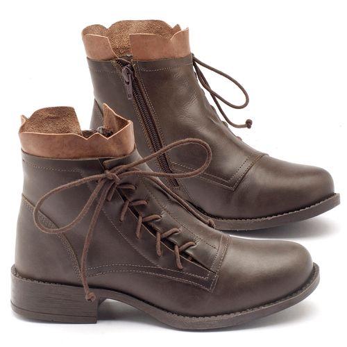 Laranja_Lima_Shoes_Sapatos_Femininos_Bota_Cano_Curto_em_Couro_Verde_-_Codigo_-_141004_1