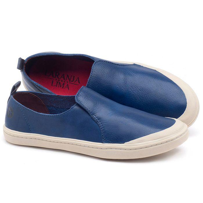 Laranja_Lima_Shoes_Sapatos_Femininos_Tenis_Cano_Baixo_em_Couro_Azul_-_Codigo_-_141050_1