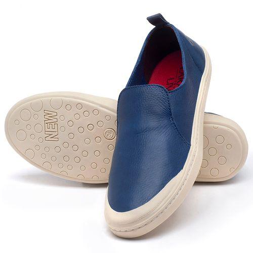 Laranja_Lima_Shoes_Sapatos_Femininos_Tenis_Cano_Baixo_em_Couro_Azul_-_Codigo_-_141050_2