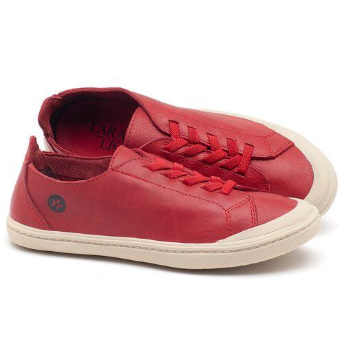 Laranja_Lima_Shoes_Sapatos_Femininos_Tenis_Cano_Baixo_em_Couro_Vermelho_-_Codigo_-_141051_1