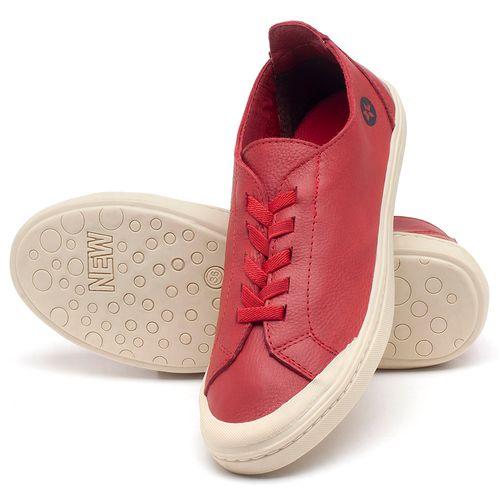 Laranja_Lima_Shoes_Sapatos_Femininos_Tenis_Cano_Baixo_em_Couro_Vermelho_-_Codigo_-_141051_2