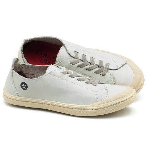 Laranja_Lima_Shoes_Sapatos_Femininos_Tenis_Cano_Baixo_em_Couro_Off-White_-_Codigo_-_141051_1