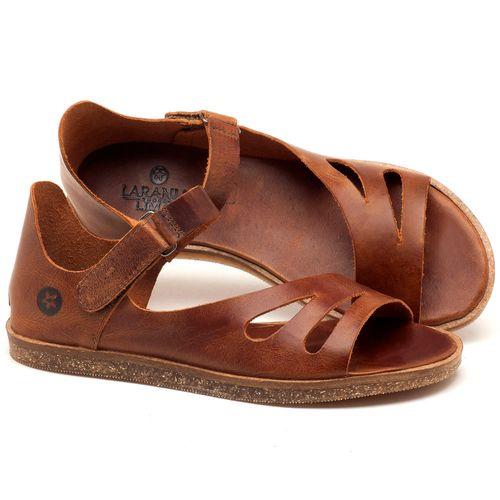 Laranja_Lima_Shoes_Sapatos_Femininos_Sandalia_Rasteira_Flat_em_Couro_Marrom_-_Codigo_-_141054_1
